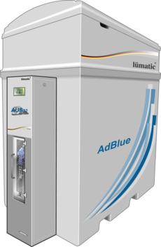 Adblue Container Smart, Adblue Spender